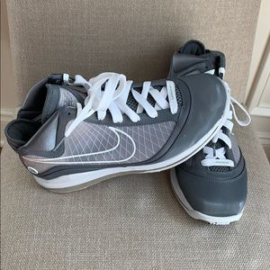 Nike - LeBron James 7 Cool Grey Sneakers